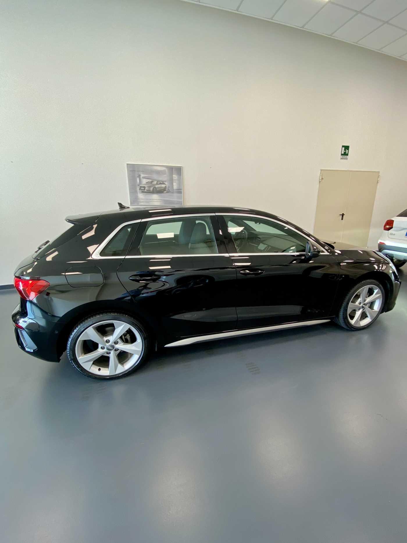 Audi - A3 Sportback S line 35 TDI usata in Sardegna - Concessionaria ufficiale Audi Catte Auto Cagliari