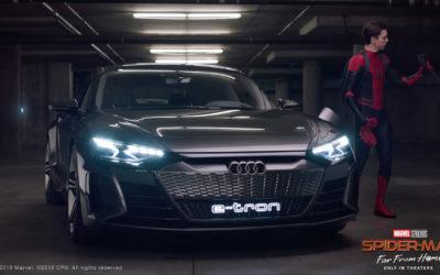 Audi e-tron e Spider-man